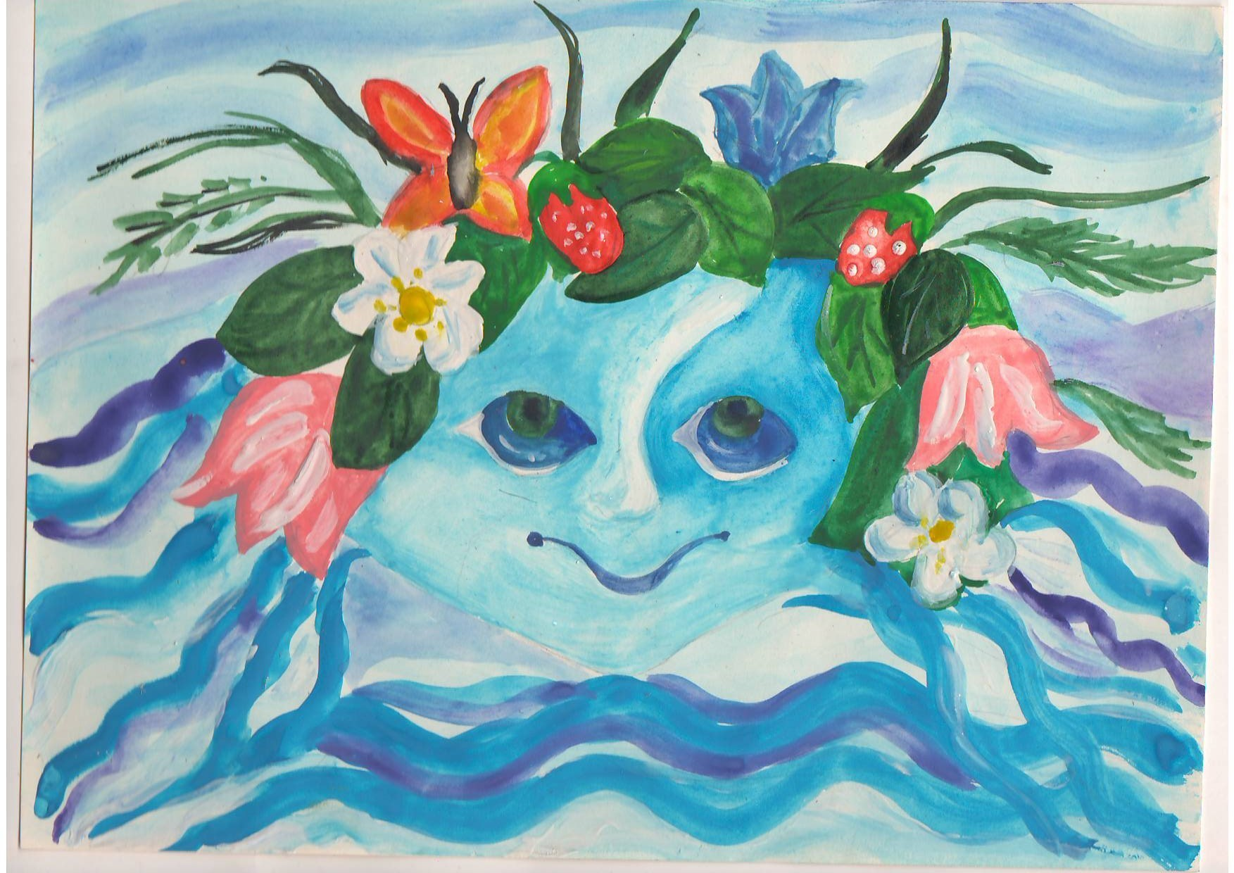 Творческий конкурс ко дню воды