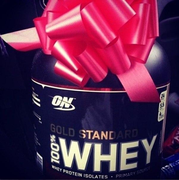 Протеин как подарок
