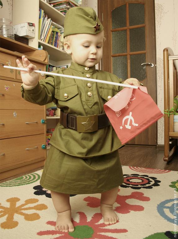 Военная форма на ребенка сшить своими руками