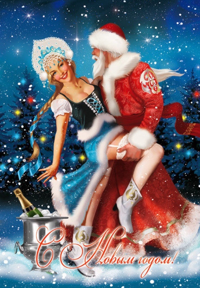 Новогоднее поздравление с танцами