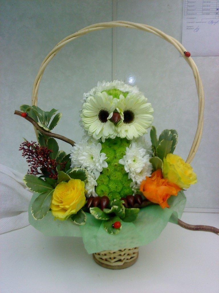 Идеи для букетов из цветов своими руками 97