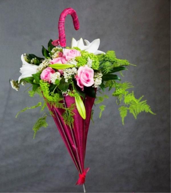 Красивый букет из цветов своими руками