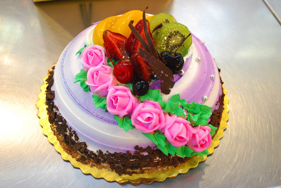 Праздничный торт фото хорошее качество