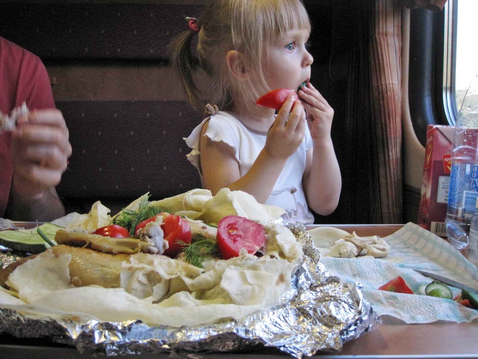 ситуации что кушать в поезде посредников: только
