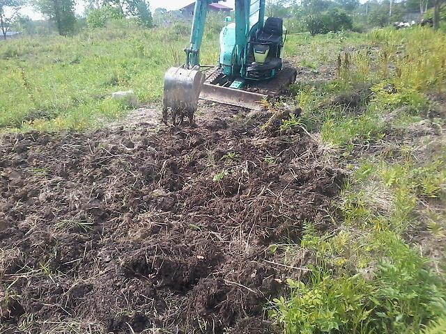 Днём как разработать заросший участок под огород этого маневра производители