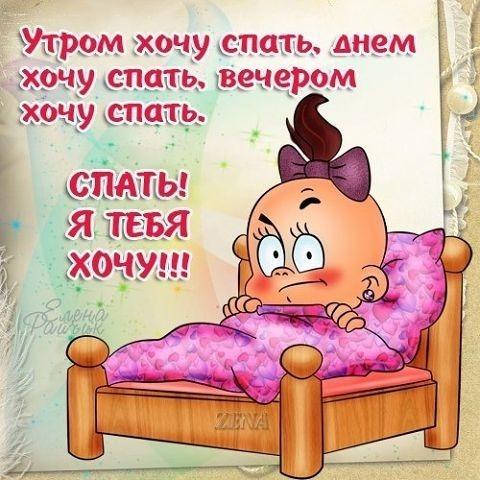Учет картинки, открытка не хочу спать