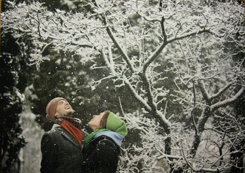 зимняя прогулка с любимым картинки гифы там