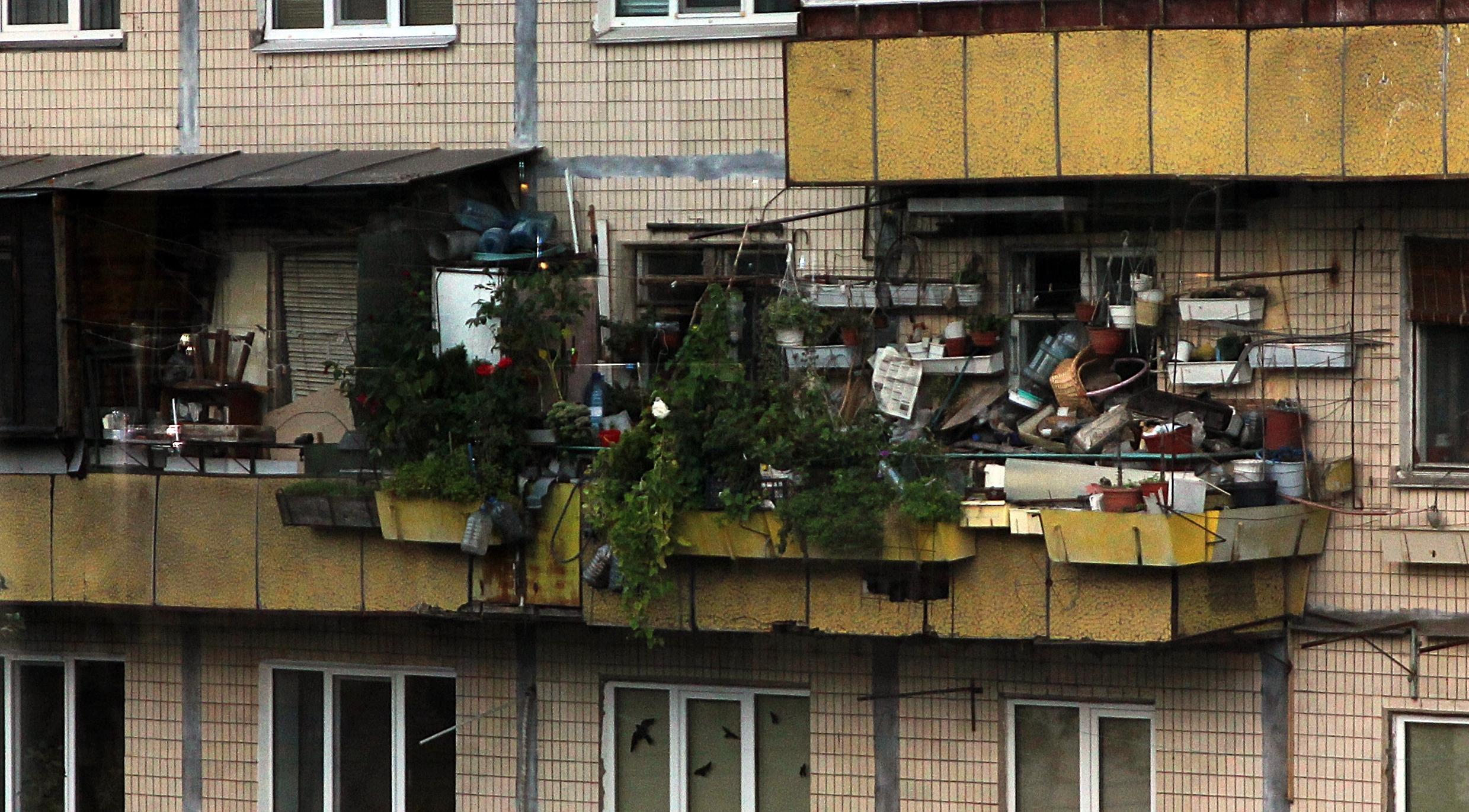 Российские балконы (26 фото).