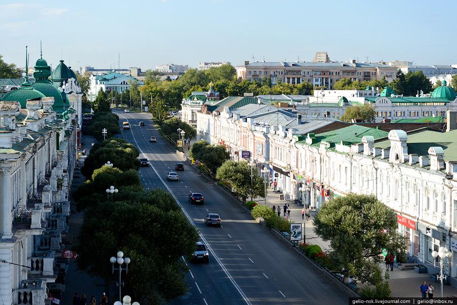 Панорама улиц омска