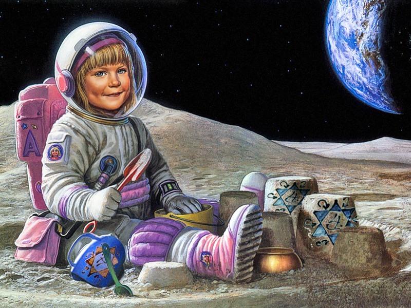 прикольные картинки к дню космонавтов