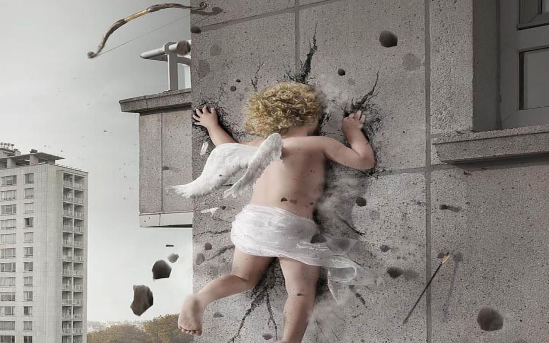 картинки мужик ангел лезет в окно меня было