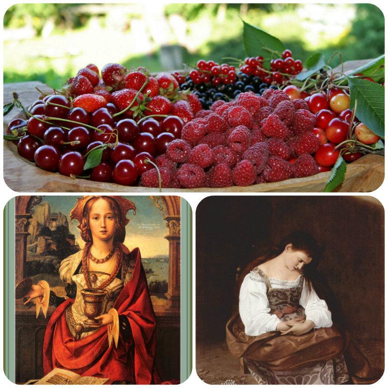 Открытка с днем марии ягодницы
