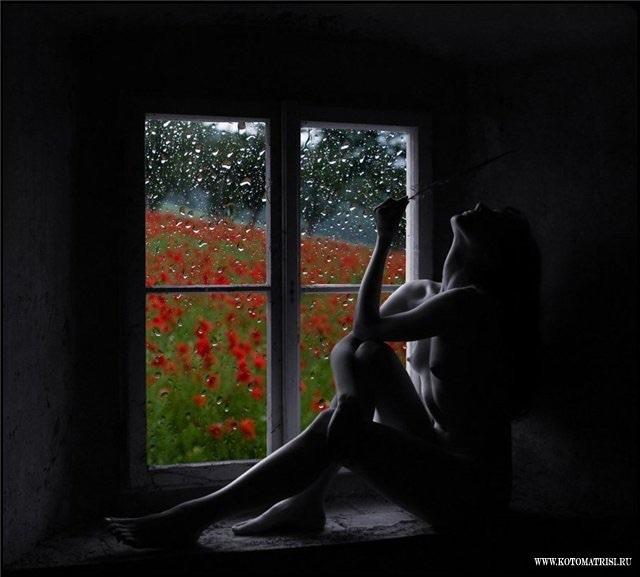 Голые на окне путают