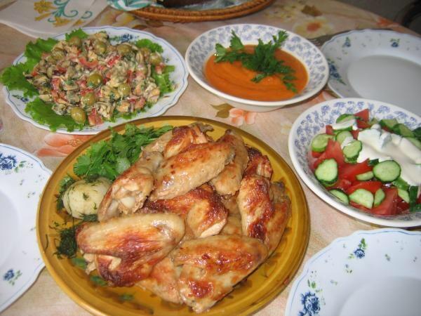 Вкусный домашний ужин рецепты с фото