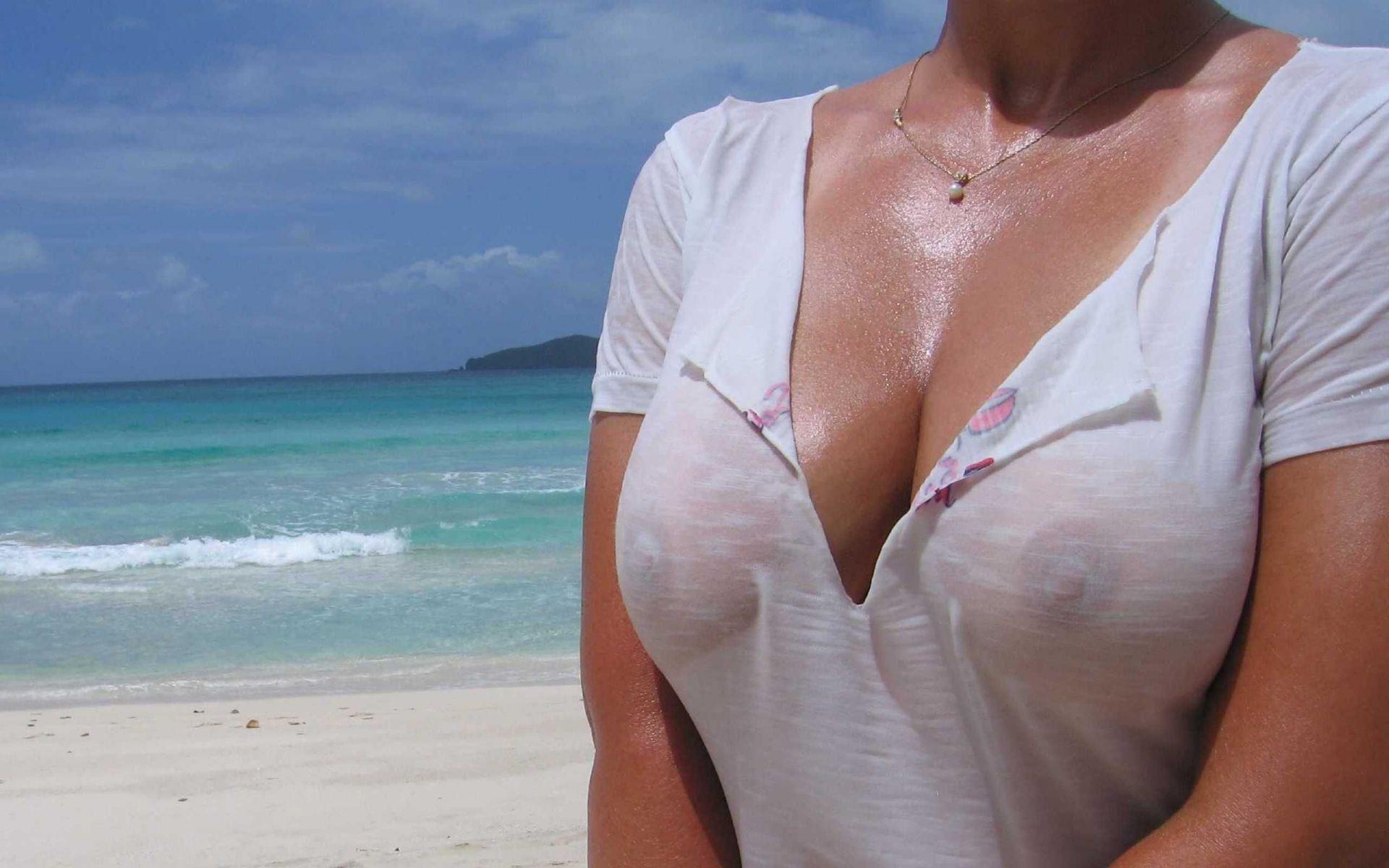 мокрые сисечки в рубашках это