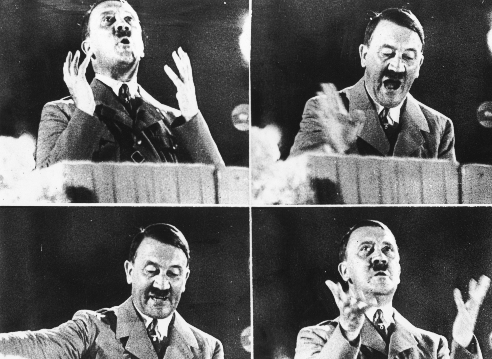 an overview of the early life and conduct of adolf hitler during his dictatorial rule Images of adolf hitler are seen at an art festival in weimar, germany, in this aug 31, 2015, file photo (cns photo/sebastiana kehnert, epa) the former, weikart notes, was related to theological.