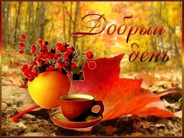 Карточки распечатать, картинки хорошего дня осень